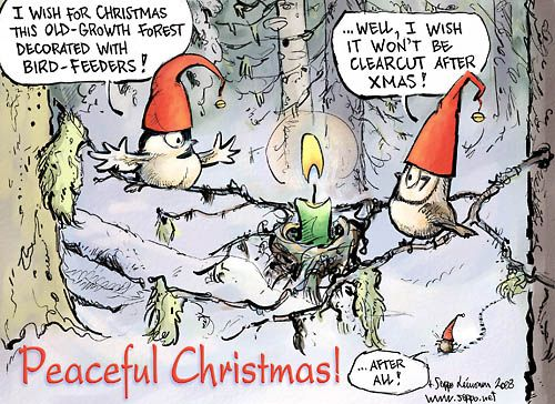 Season's Greetings Cards | Environmental Cartoons